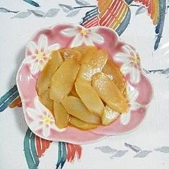 ウドの辛子酢味噌和え