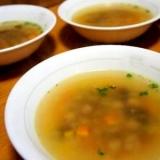 アラを使って、絶品お魚スープ