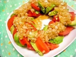 簡単でウマイ!!アボカドとトマトのサラダ
