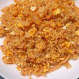 炒り卵入りキムチチャーハン