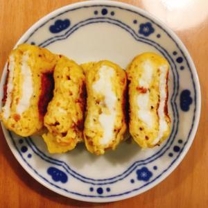 *弁当おかず*卵1個で卵焼き 粉チーズver
