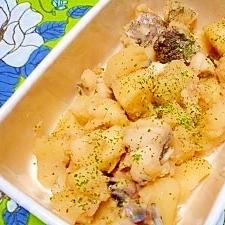 鱈とジャガイモ☆バター醤油