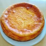 しっとり♪定番ベイクドチーズケーキ