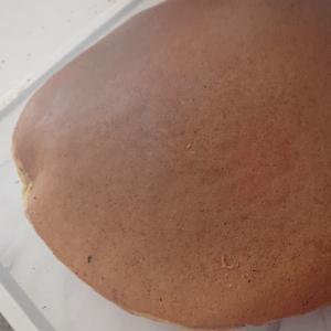 卵とみりんでホットケーキ