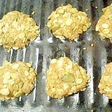 ざっくざく食感☆簡単ヘルシーなオートミールクッキー