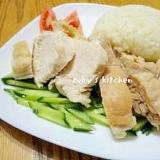 シンガポールの味☆海南鶏飯