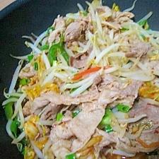 野菜いっぱい豚キムチ☆