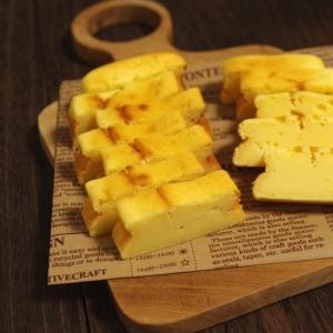 ホットケーキミックスで☆気軽につまめるチーズケーキ