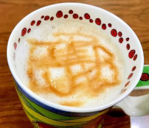 コーヒーバッグで作るキャラメルマキアート
