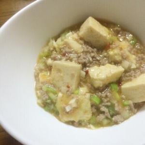 塩麹の麻婆豆腐
