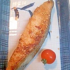 鮭のゴマしょうゆ焼き