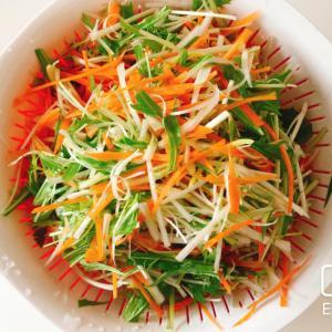 お鍋の具に!簡単しゃぶ葉風香味野菜