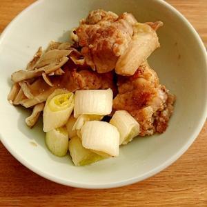 鶏もも肉とねぎの塩麹グリル