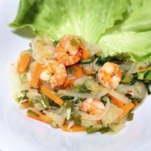 野菜たっぷり低脂質!エビチリ