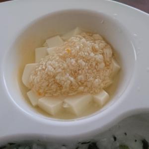 離乳食 後期 豆腐のそぼろあんかけ