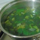 緑のスープ