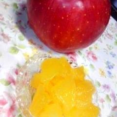 超簡単♪レンジでできるりんごの甘煮