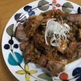 豚肉のチャーシュー焼き