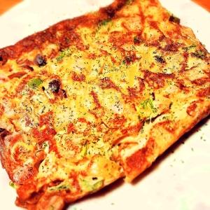 簡単!野菜も摂れる 彩りスパニッシュオムレツ!