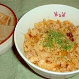 小学生に人気ナンバーワンの給食キムタクご飯