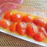 レンジで簡単!アイコトマトのマリネ