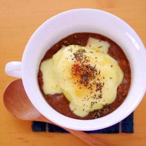 【リメイクレシピ/カレー】ポテトのカレーチーズ焼き
