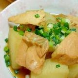 鮭と大根の煮物。