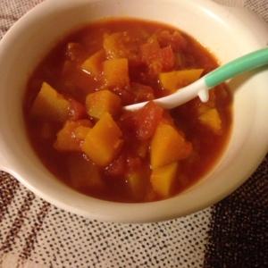 南瓜のトマト煮 離乳食