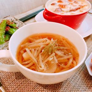 モヤシのコンソメスープ☆