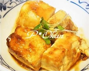 大人の味♪豆腐のワサビ醤油ステーキ