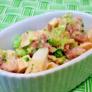 【離乳食】卵焼き&ツナ&ブロッコリーのマヨあえ