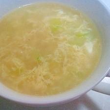 ウェイパーで簡単(^▽^)♪たまごの中華スープ☆