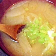 大根と厚揚げのお味噌汁