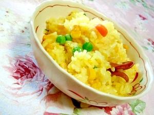 濃厚❤炊飯器で美味しいパエリア(風^^;)❤