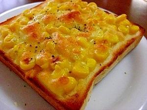 コーンチーズトースト