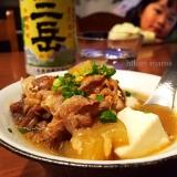 こってり味噌でお酒&ご飯が進む♡簡単熱々肉豆腐!