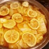 柚子たっぷり * 鶏塩ゆず鍋 *