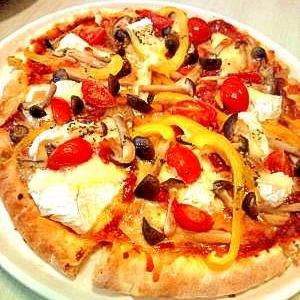 市販のピザを豪華に!木こり風ピザ