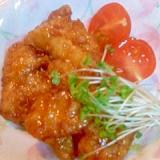 鶏肉の甘辛ダレ
