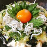〈糖質制限ダイエット〉ネギ塩タレのしらす豆腐丼