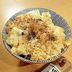 親子丼~すき焼割りしたで簡単・玉ねぎミジン版~