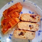 小麦・バター不使用★おからのフルーツケーキ