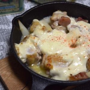 鶏肉とホワイトアスパラガスのサワークリーム焼き