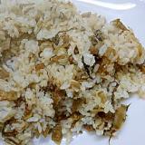 高菜チャーハン(ゴママヨ風味)