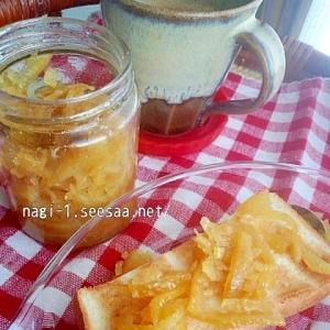 レンジで☆無農薬の柑橘類で作る簡単マーマレード