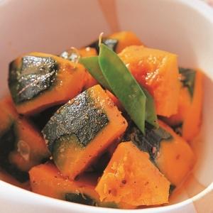 まるさん ふりだしで作る♪おいしいかぼちゃの煮物