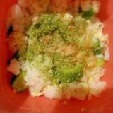 きゅうりとツナの混ぜご飯