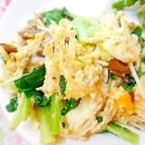 ❤小松菜とエノキと舞茸のマヨ・エッグ❤
