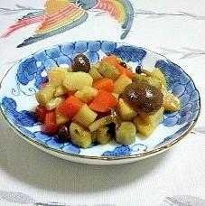 常備菜でーす~根菜類の炒め物♪