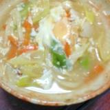 【魚肉ソーセージ☆ヘルシーレシピ】煮込み卵うどん